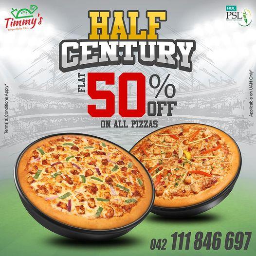 Timmy's - Pizzas Sale