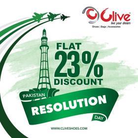 Clive Shoes - Pakistan Day Sale