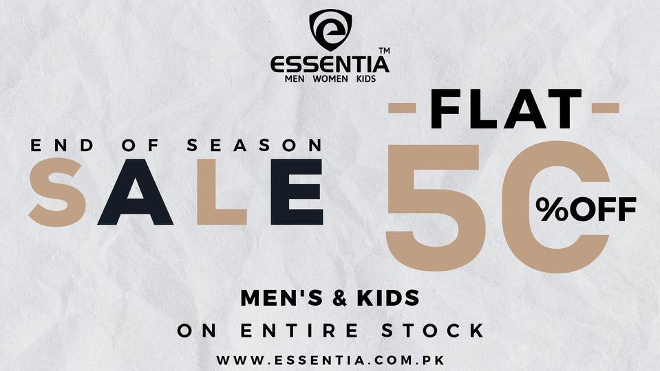 Essentia - End Of Season Sale