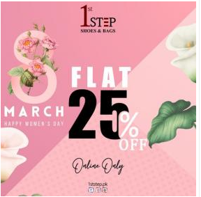 1st STEP - Women's Day Sale