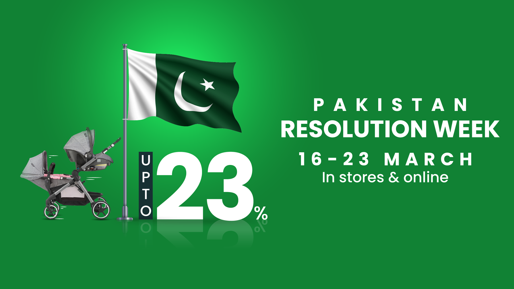 Zubaidas - Pakistan Day Sale