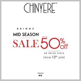 Chinyere - MID-SEASON SALE