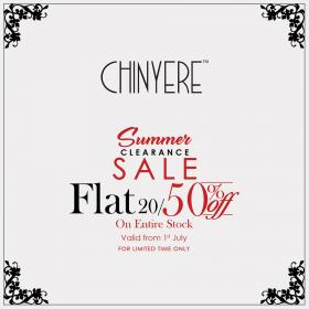 Chinyere - Further Reductions