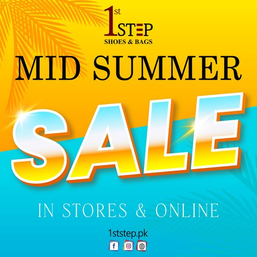 1st STEP - Mid Summer Sale