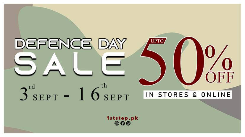 1st STEP - Defence Day Sale