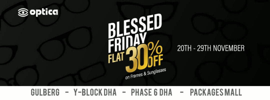 Optica - Blessed Friday Sale