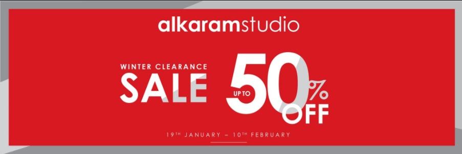 Alkaram Studio - Winter Clearance Sale