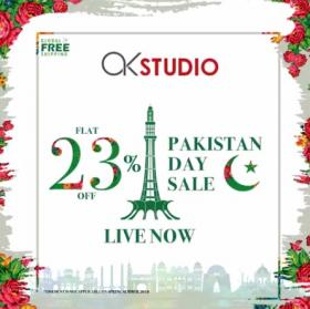 Alkaram Studio - Pakistan Day Sale
