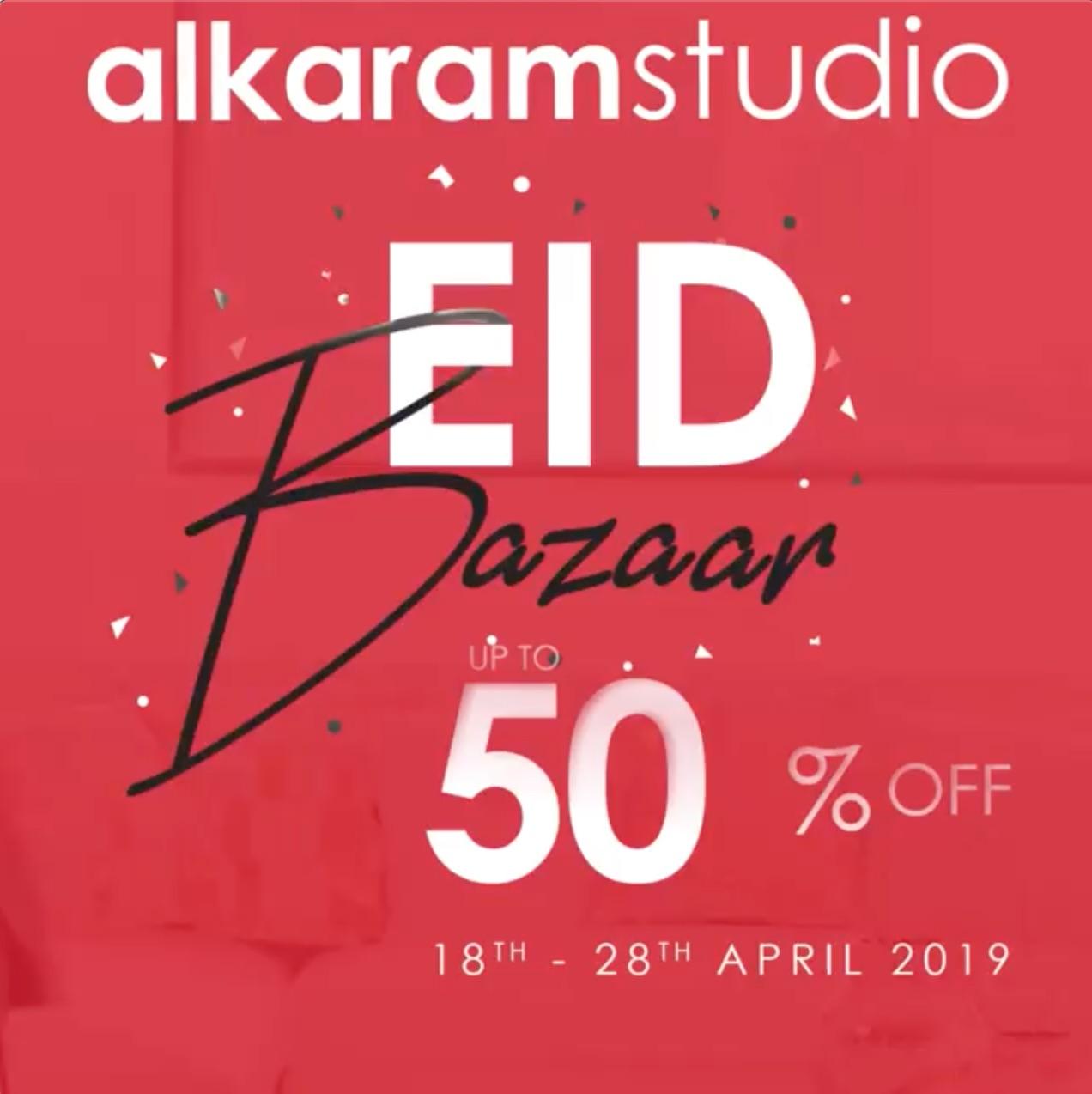 Alkaram Studio - Eid Bazaar