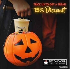 Secondcup - Second Cup Pakistan Halloween Offer