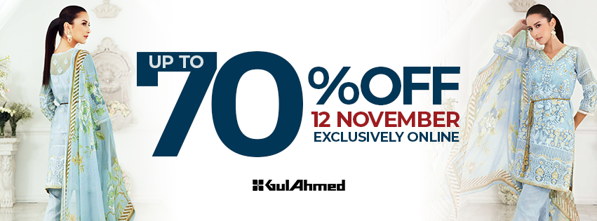 Gul Ahmed - Exclusively Online