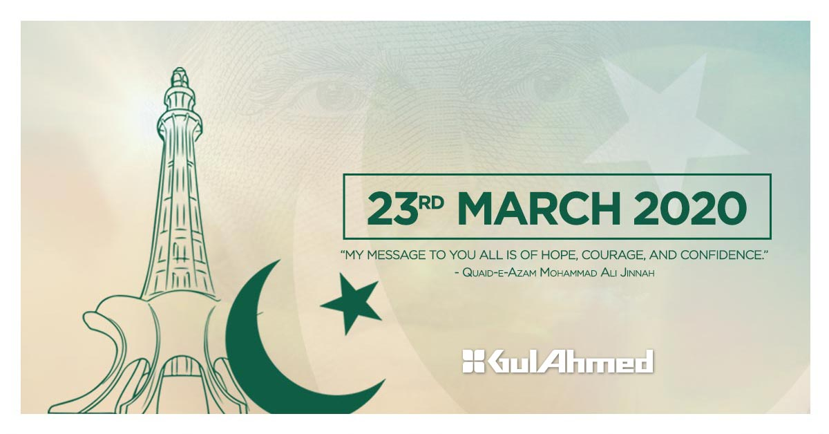 Gul Ahmed - Pakistan Day Sale