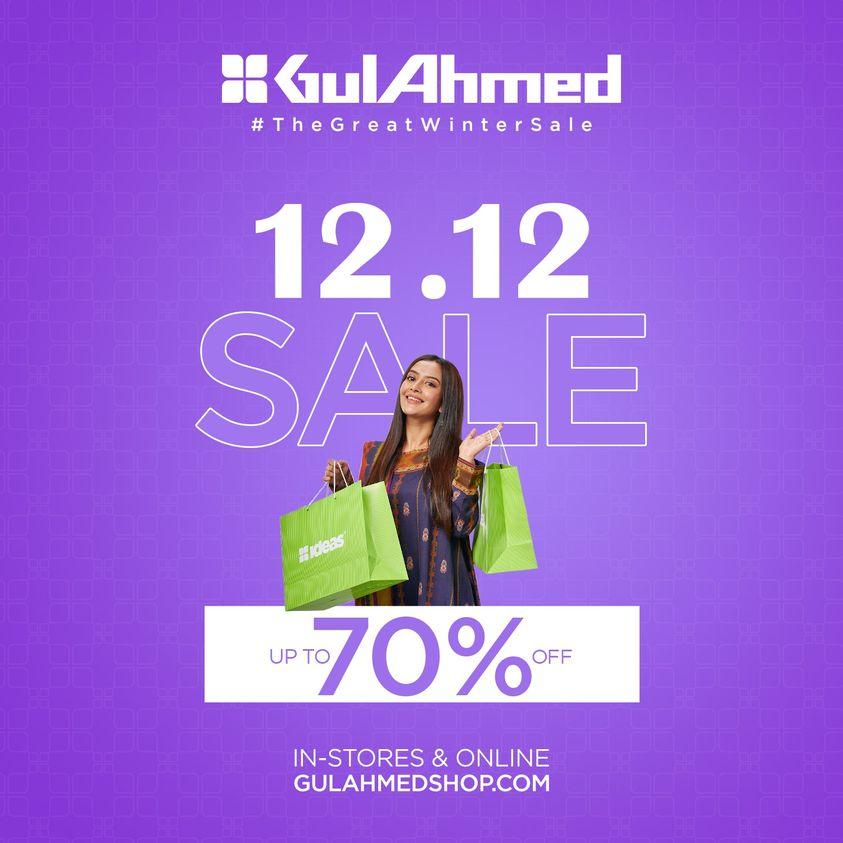 Gul Ahmed - 12 12 Sale