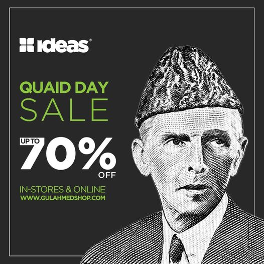Gul Ahmed - QUAID DAY SALE