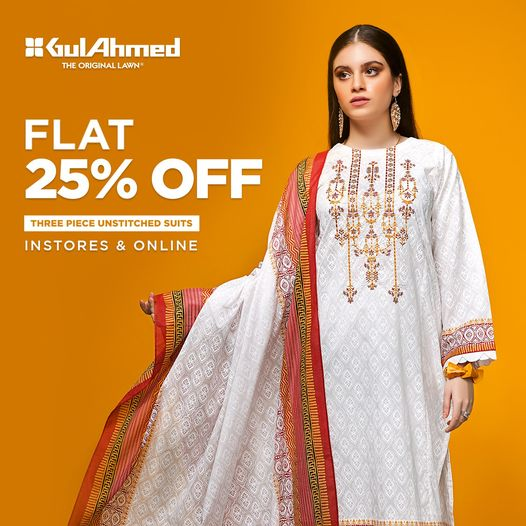 Gul Ahmed - Winter Sale
