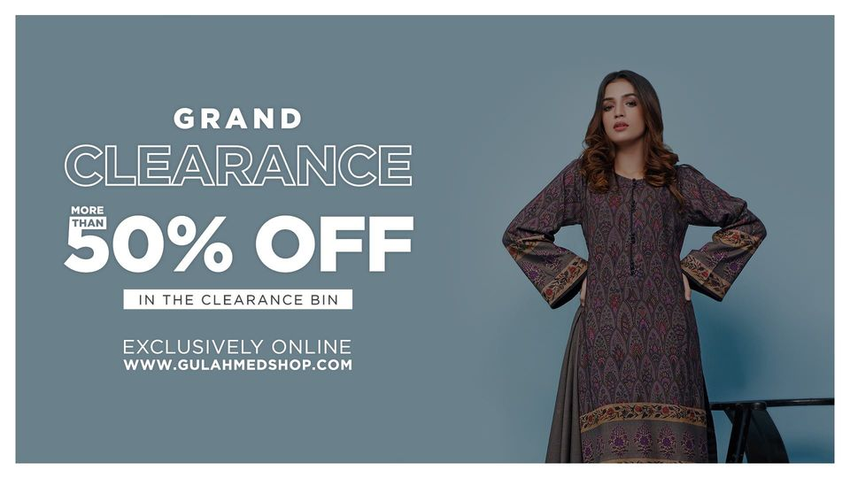 Gul Ahmed - Grand Clearance Sale