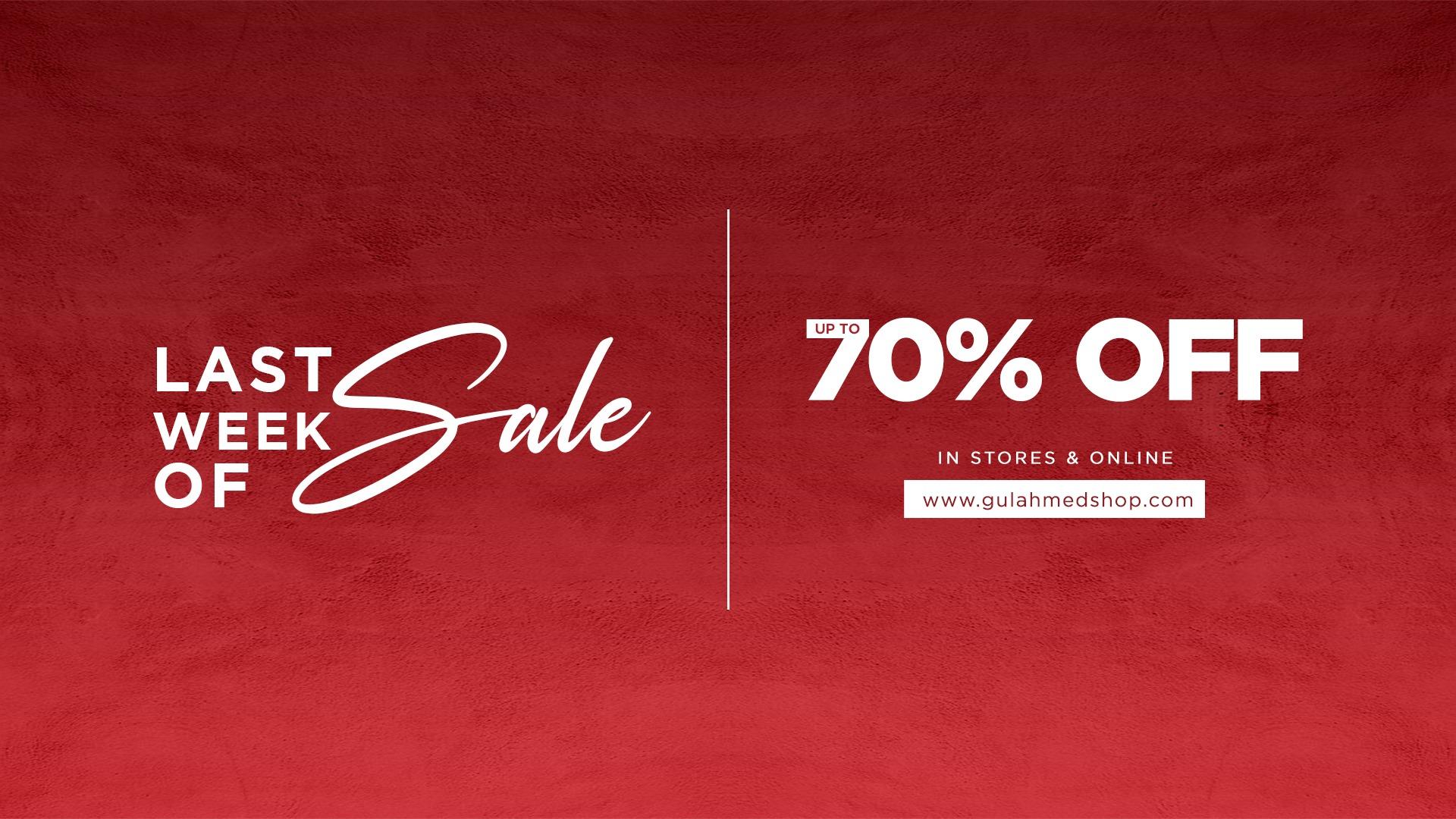 Gul Ahmed - Week Of Sale