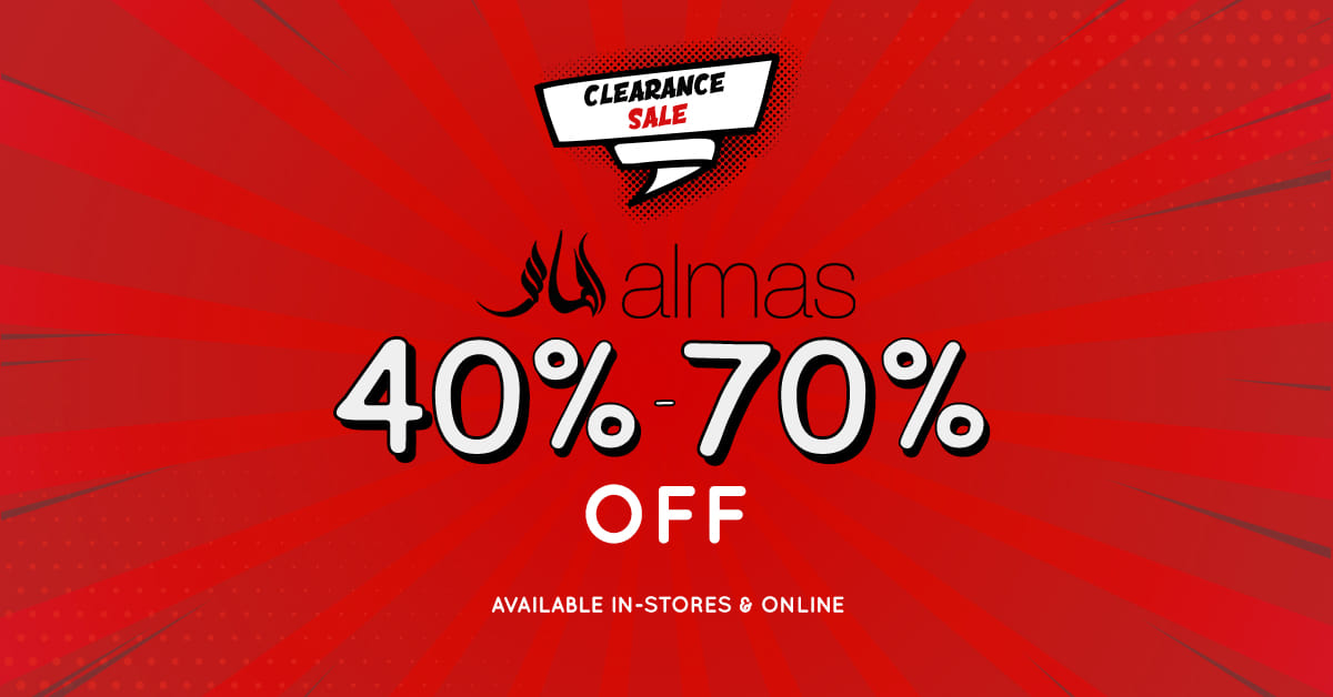 Almas - Clearance Sale