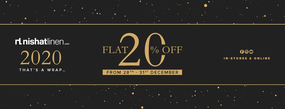 Nishat Linen - Year End Sale