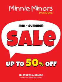 Minnie Minors - Mid-Summer Sale