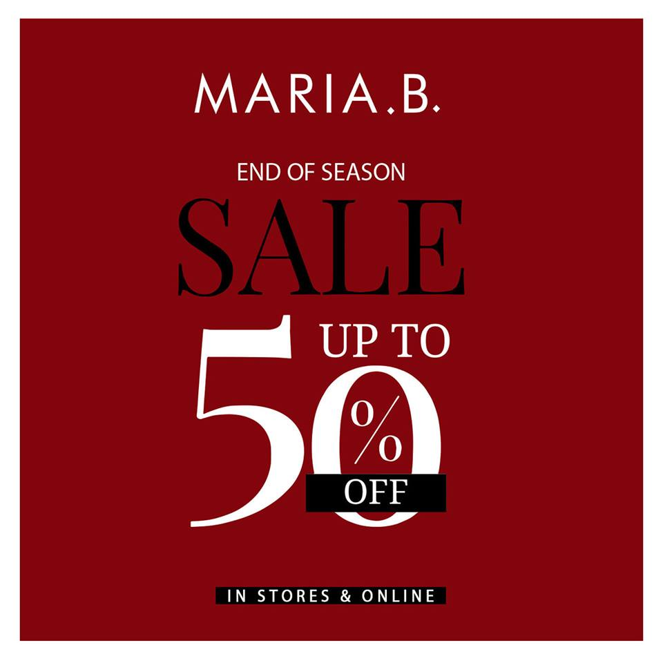 Maria.b. - End Of Season Sale Is Here !!