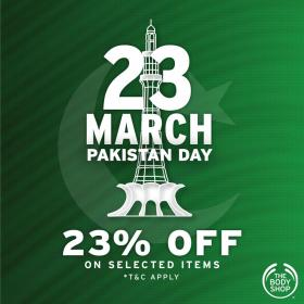 The Body Shop - Pakistan Day