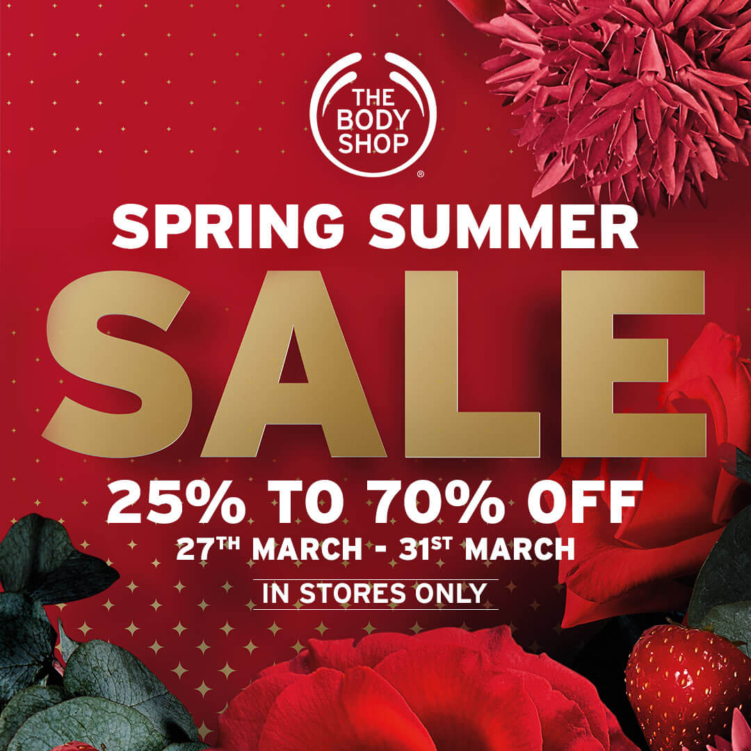 The Body Shop - Spring Summer Sale