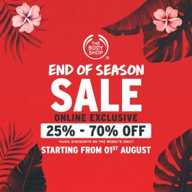 The Body Shop - Online Sale