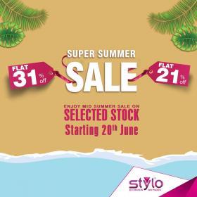 Stylo Shoes - SUPER SUMMER SALE