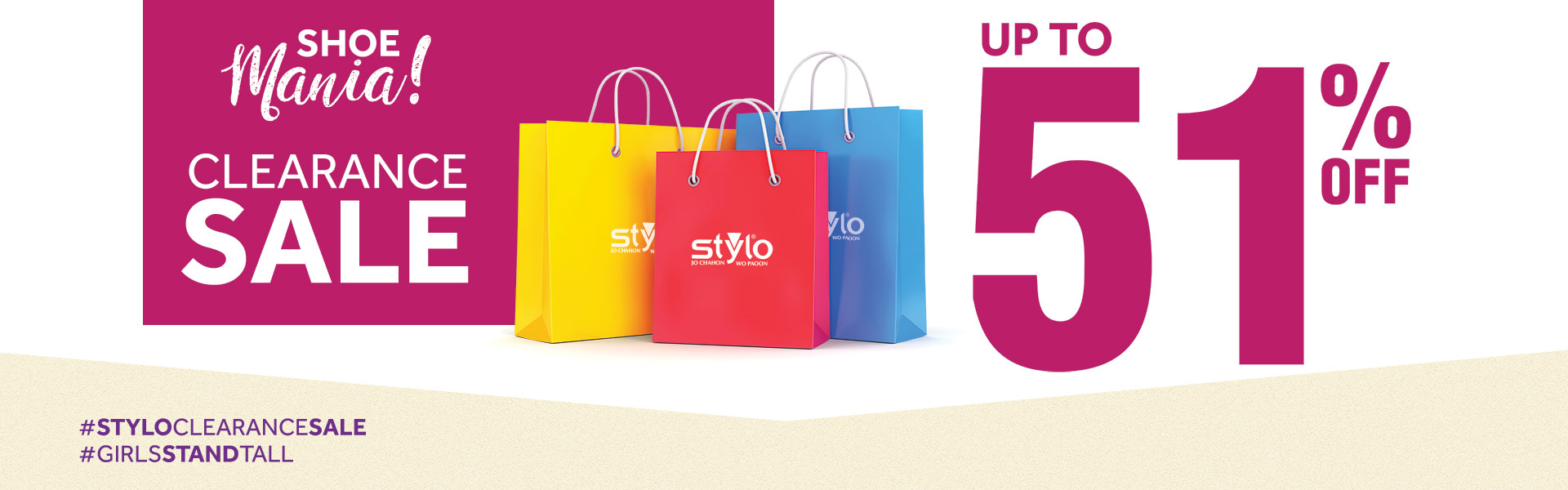 Stylo Shoes - Winter Clearance Sale