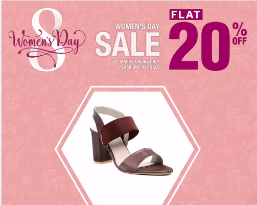 Stylo Shoes - Women's Day Sale