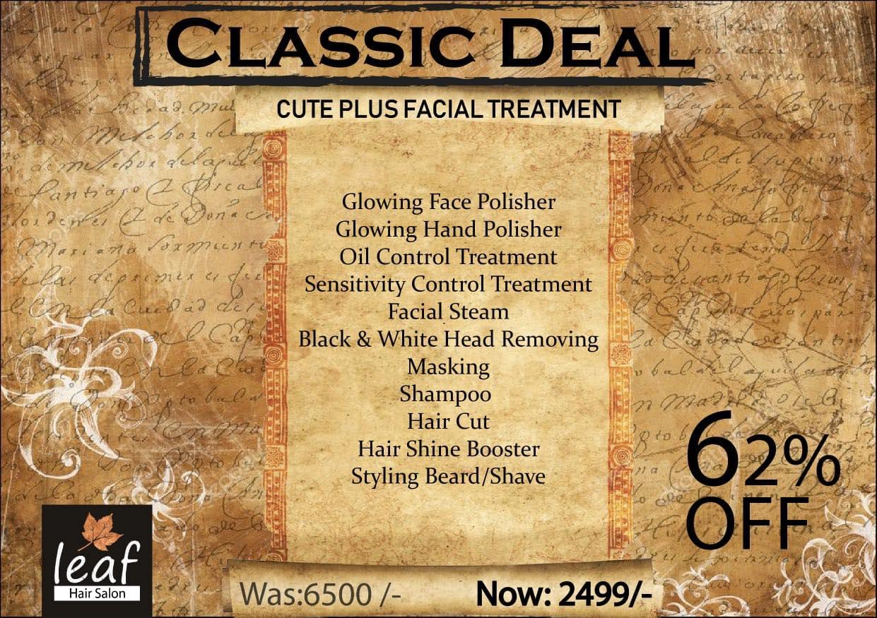 Leaf Hair Salon & Spa - Classic Deal
