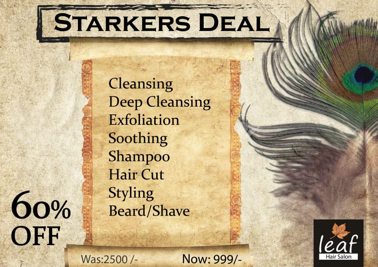 Leaf Hair Salon & Spa - Starkers Deal