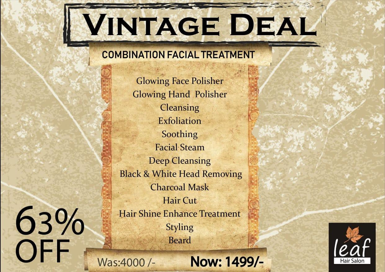 Leaf Hair Salon & Spa - Vintage Deal