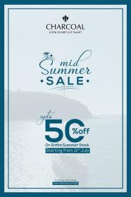 Charcoal - Mid Summer Sale