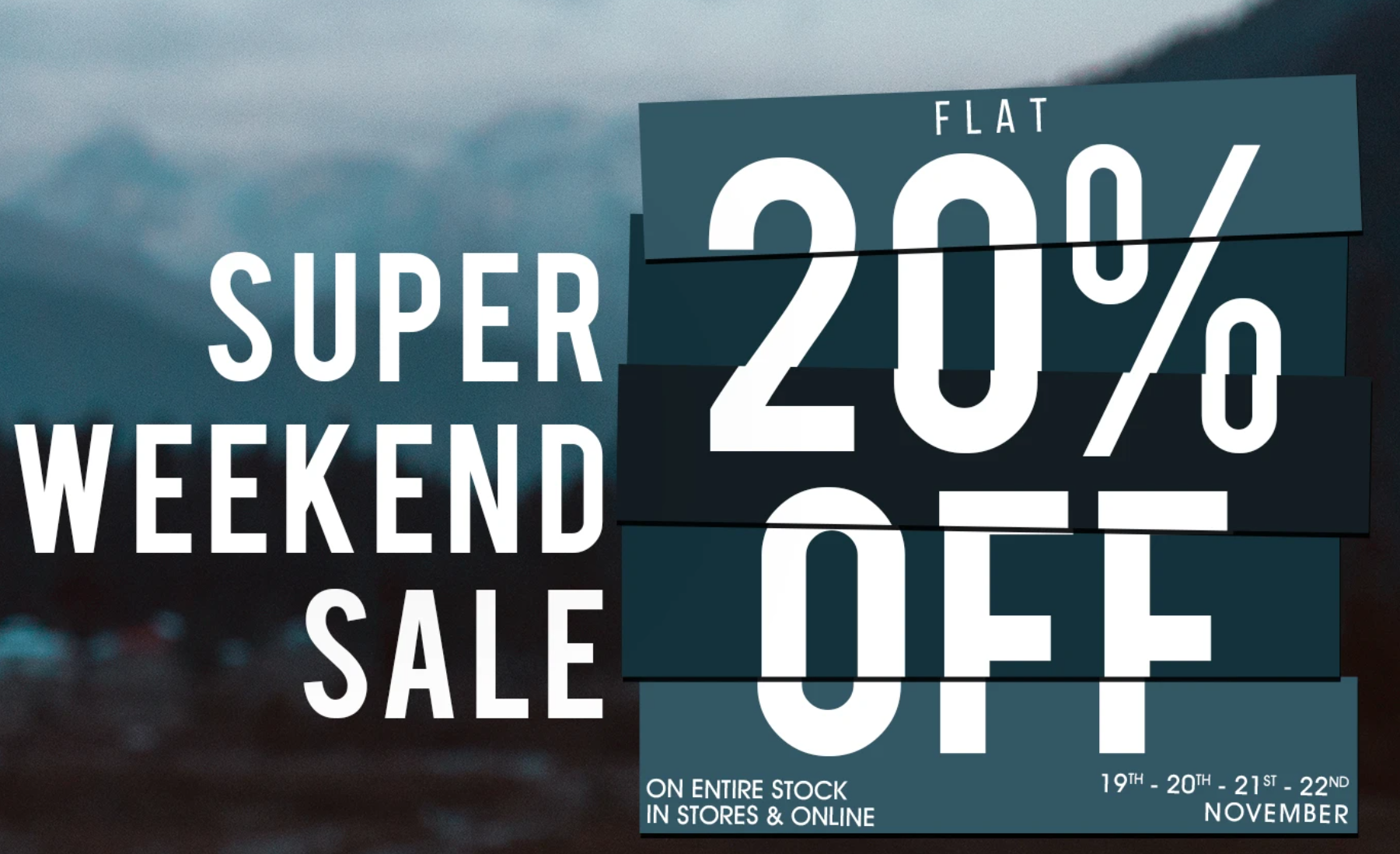 Super Weeked Sale