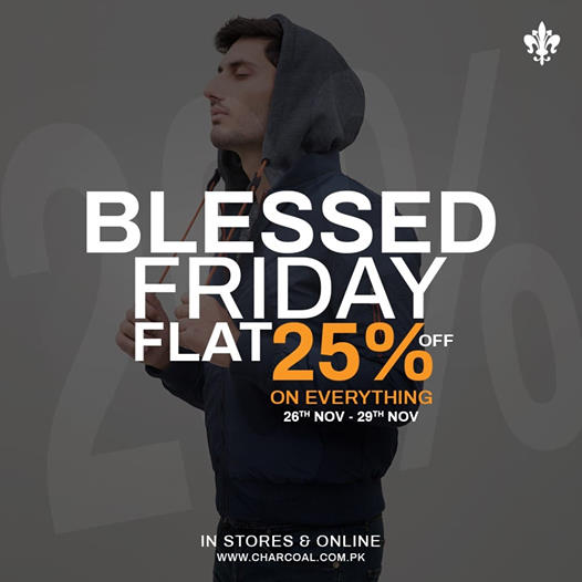 Charcoal - Blessed Friday Sale