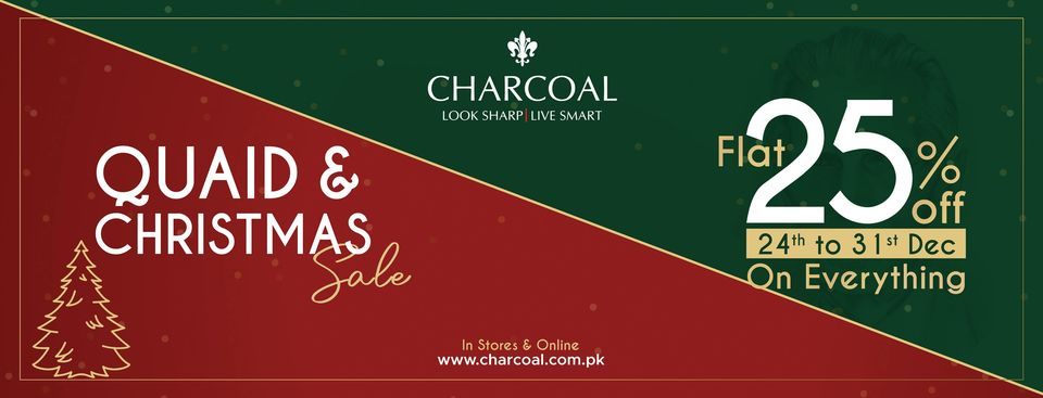 Charcoal - Quaid & Christmas Sale
