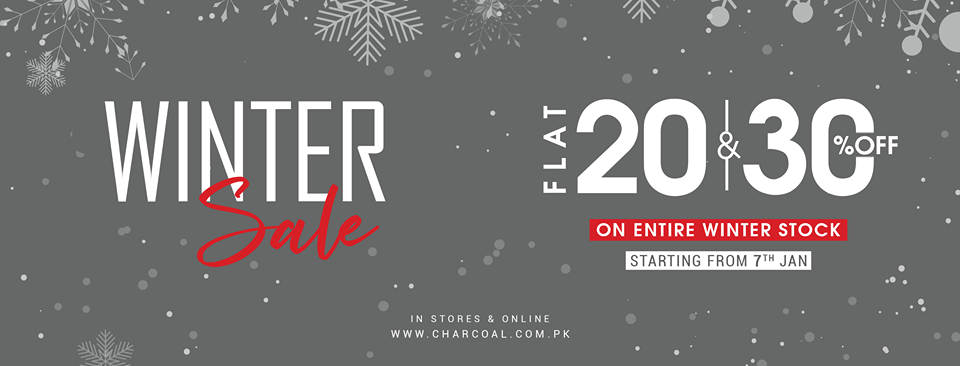 Charcoal - Winter Sale
