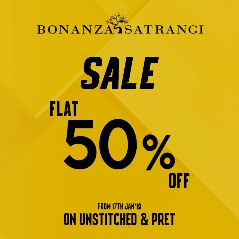 Bonanza.satrangi - Mega Clearance Sale