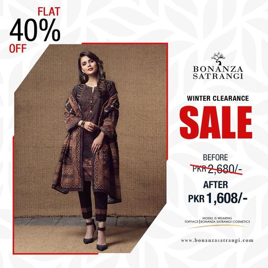 Bonanza.satrangi - Winter Clearance Sale