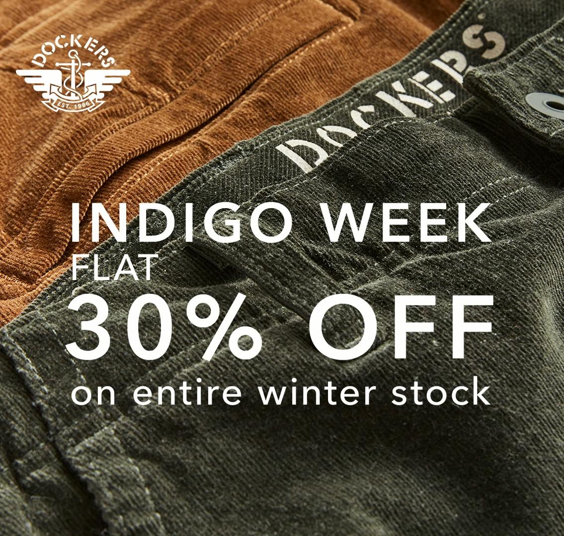 Indigo Week Sale