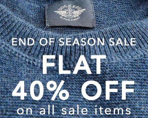 Dockers - End Of Season Sale
