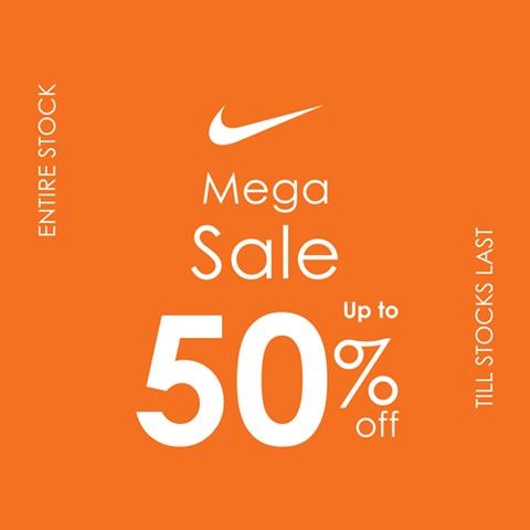 Nike Pakistan - Mega Sale 18'