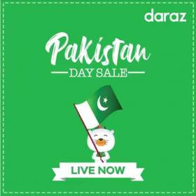 Daraz - Pakistan Day Sale