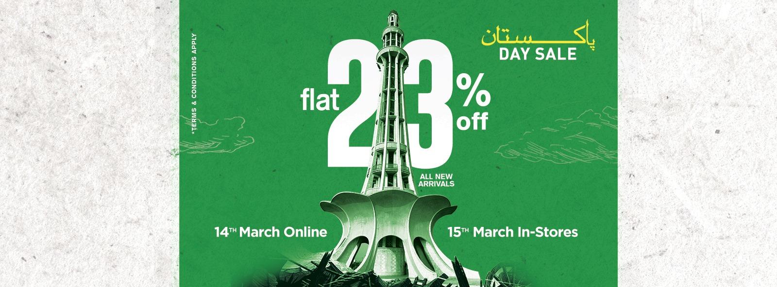 Furor - Pakistan Day Sale