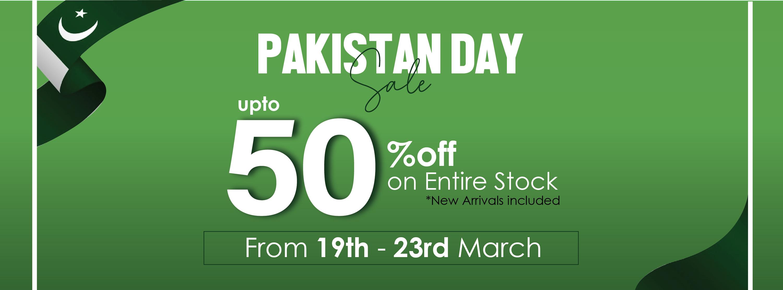 Kross Kulture - Pakistan Day Sale