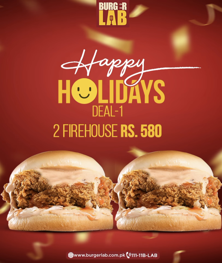 Burger Lab - Happy Holiday Deal