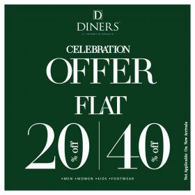 Diners - Celebration Offer