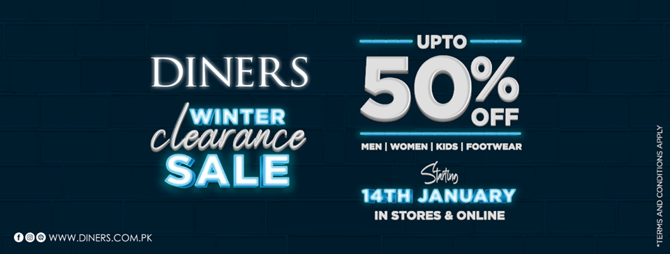 Diners - Winter Clearance Sale